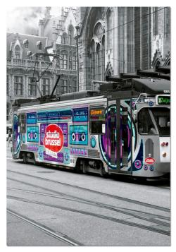 Ghent's Tram Vehicles Jigsaw Puzzle