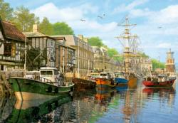 Harbour, 2000 pcs Lakes / Rivers / Streams Jigsaw Puzzle