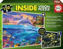 Underwater World (Inside Vision Puzzle) Under The Sea Jigsaw Puzzle