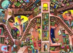 Library Surreal Jigsaw Puzzle