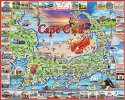 Cape Cod, MA United States Jigsaw Puzzle