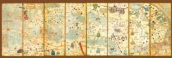 Mappa Mundi 1375 Geography Jigsaw Puzzle