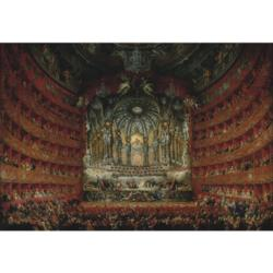 Performance at Teatro Argentina Music Jigsaw Puzzle
