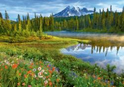 Rainier Reflections Photography Jigsaw Puzzle