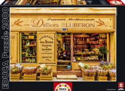The Delights of the Luberon France Jigsaw Puzzle