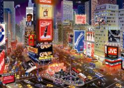 Times Square, New York Skyline / Cityscape High Difficulty Puzzle