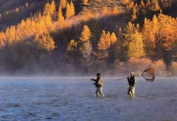 Two Men Fishing - Scratch and Dent Lakes / Rivers / Streams Jigsaw Puzzle