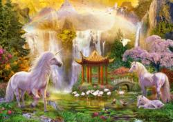 Unicorn Valley of the Waterfalls Lakes / Rivers / Streams Jigsaw Puzzle