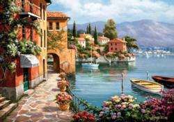 Villa De Lago - Scratch and Dent Seascape / Coastal Living Jigsaw Puzzle