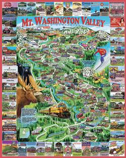 Mt. Washington Valley United States Jigsaw Puzzle