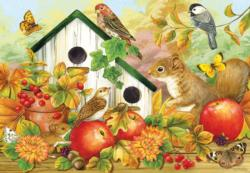 Bird Neighbors Butterflies and Insects Jigsaw Puzzle