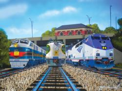 Legacy Trains Jigsaw Puzzle