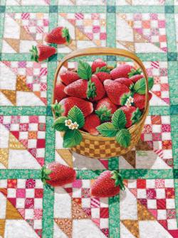 Strawberry Basket Food and Drink Jigsaw Puzzle