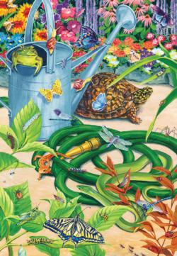 Garden Hustle Reptiles and Amphibians Jigsaw Puzzle