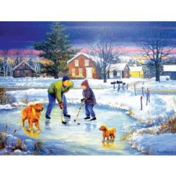 Brothers Winter Jigsaw Puzzle