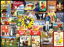 Have you had your Milk Today? Collage Jigsaw Puzzle