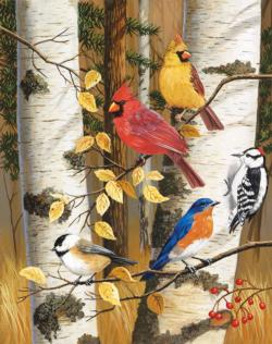 Autumn Friends Wildlife Jigsaw Puzzle