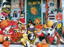 Halloween Costume Contest Collage Jigsaw Puzzle