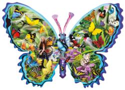 Genevieve Butterflies and Insects Jigsaw Puzzle