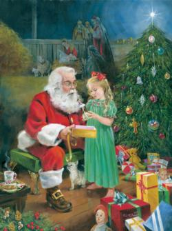 The Gift Santa Jigsaw Puzzle