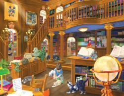 The Library Baby Animals Large Piece
