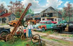 In Grandpa's Footsteps - Scratch and Dent Nostalgic / Retro Jigsaw Puzzle