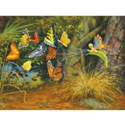 Flight of the Pixie - Scratch and Dent Nature Jigsaw Puzzle