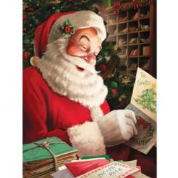 Letters to Santa Christmas Jigsaw Puzzle