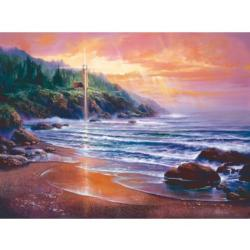 Homeward Bound Sunrise/Sunset Jigsaw Puzzle