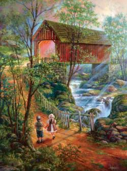 The Crossing Lakes / Rivers / Streams Jigsaw Puzzle