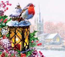 Guiding Light Snow Jigsaw Puzzle