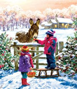 Greetings Snow Jigsaw Puzzle