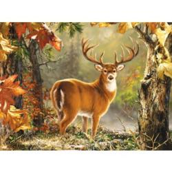 Whitetail Wildlife Jigsaw Puzzle