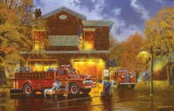 Every Boy's Dream Americana & Folk Art Jigsaw Puzzle
