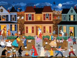 Trick or Treat 2 Americana & Folk Art Jigsaw Puzzle