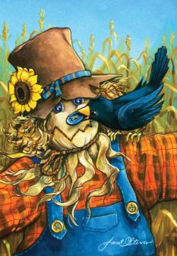 Cornfield Antics Fall Jigsaw Puzzle