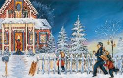 Please Mr. Postman Winter Jigsaw Puzzle