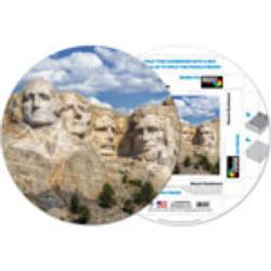 Mount Rushmore United States Shaped