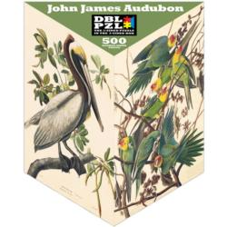 John James Audubon Illustration Triangular Puzzle Box