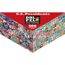U.S. Presidents Famous People Double Sided Puzzle