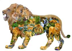 Lion's Roar - Scratch and Dent Africa Jigsaw Puzzle