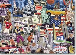 Best of the USA United States Jigsaw Puzzle