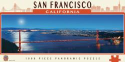 San Francisco Bridges Panoramic Puzzle