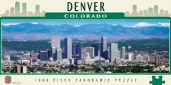 Denver Skyline / Cityscape Panoramic Puzzle