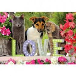True Love Flowers Jigsaw Puzzle