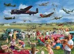 Amazing Airshow Outdoors Jigsaw Puzzle