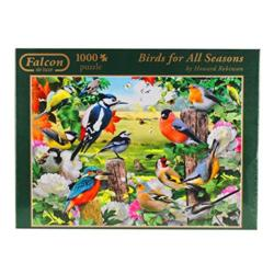 Birds For All Seasons Outdoors Jigsaw Puzzle