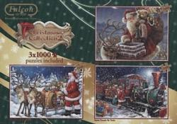 Christmas Collector's Box Vol. 2 Trains Jigsaw Puzzle
