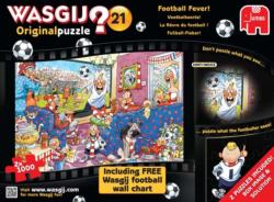 Football Fever Wasgij Jigsaw Puzzle