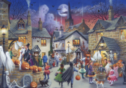 Halloween People Jigsaw Puzzle